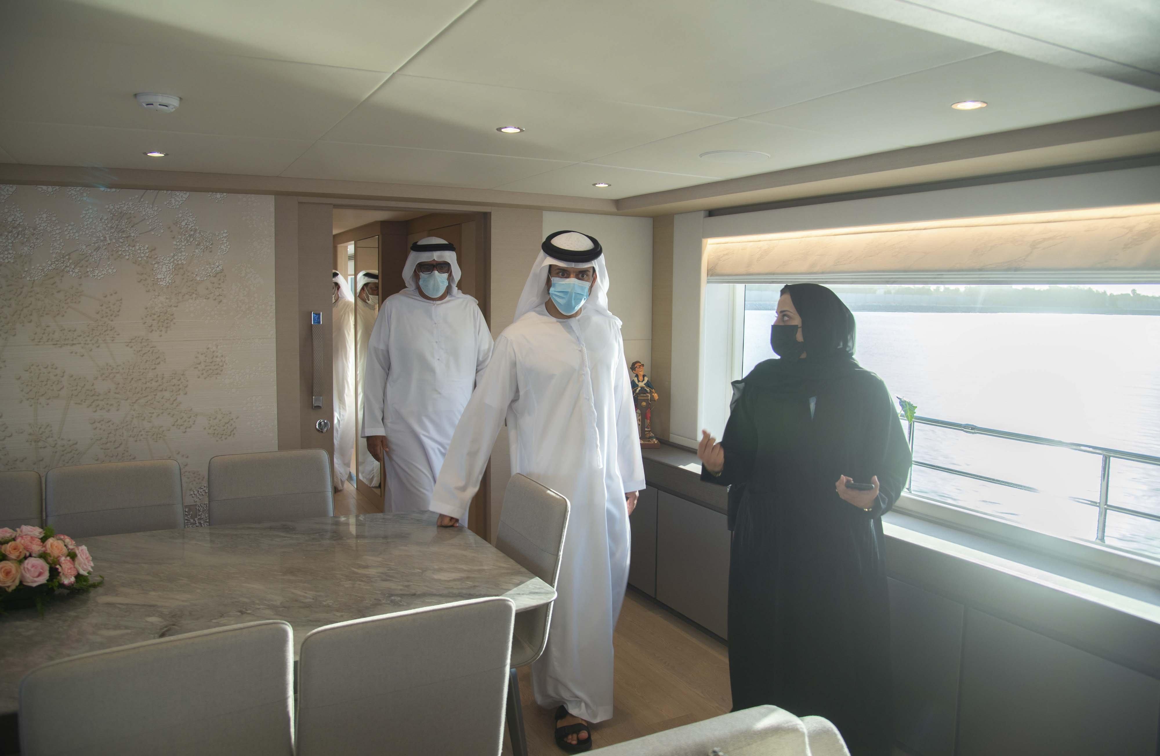 Gulf Craft at ADIBS 2021_Day 1_VIP_Press 1
