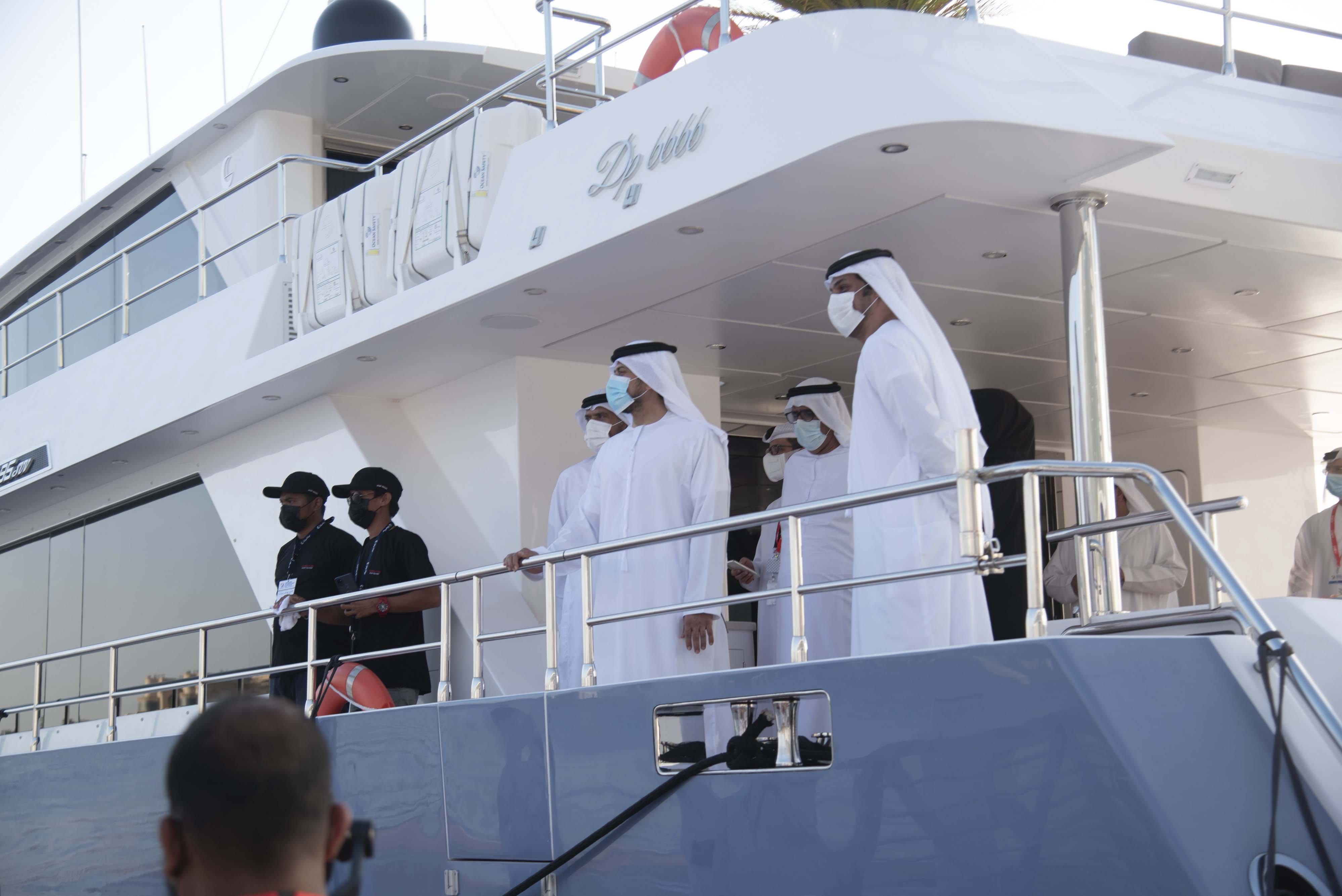 Gulf Craft at ADIBS 2021_Day 1_VIP_Press 2