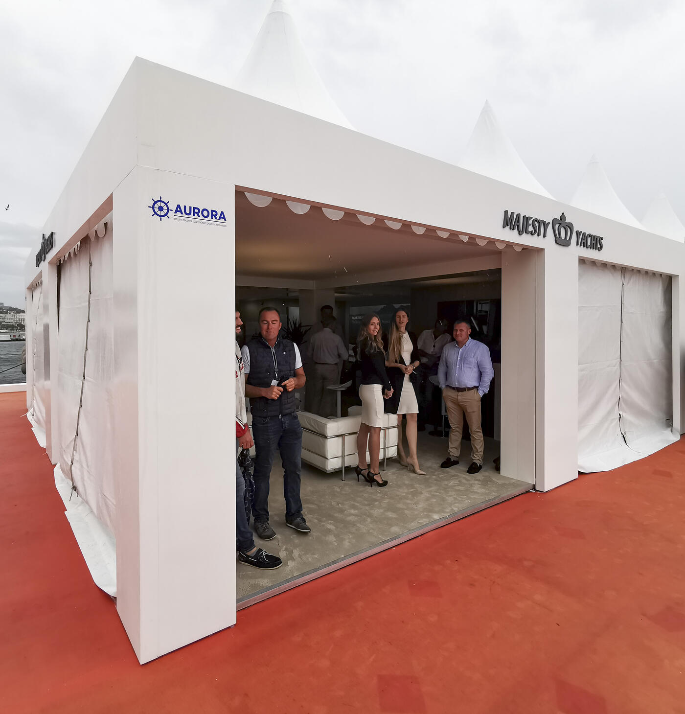 Majesty Yachts at Cannes Yachting Festival 2019 Day 1 (2)
