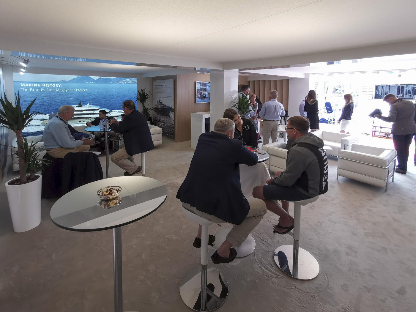 Majesty Yachts at Cannes Yachting Festival 2019 Day 1 (4)
