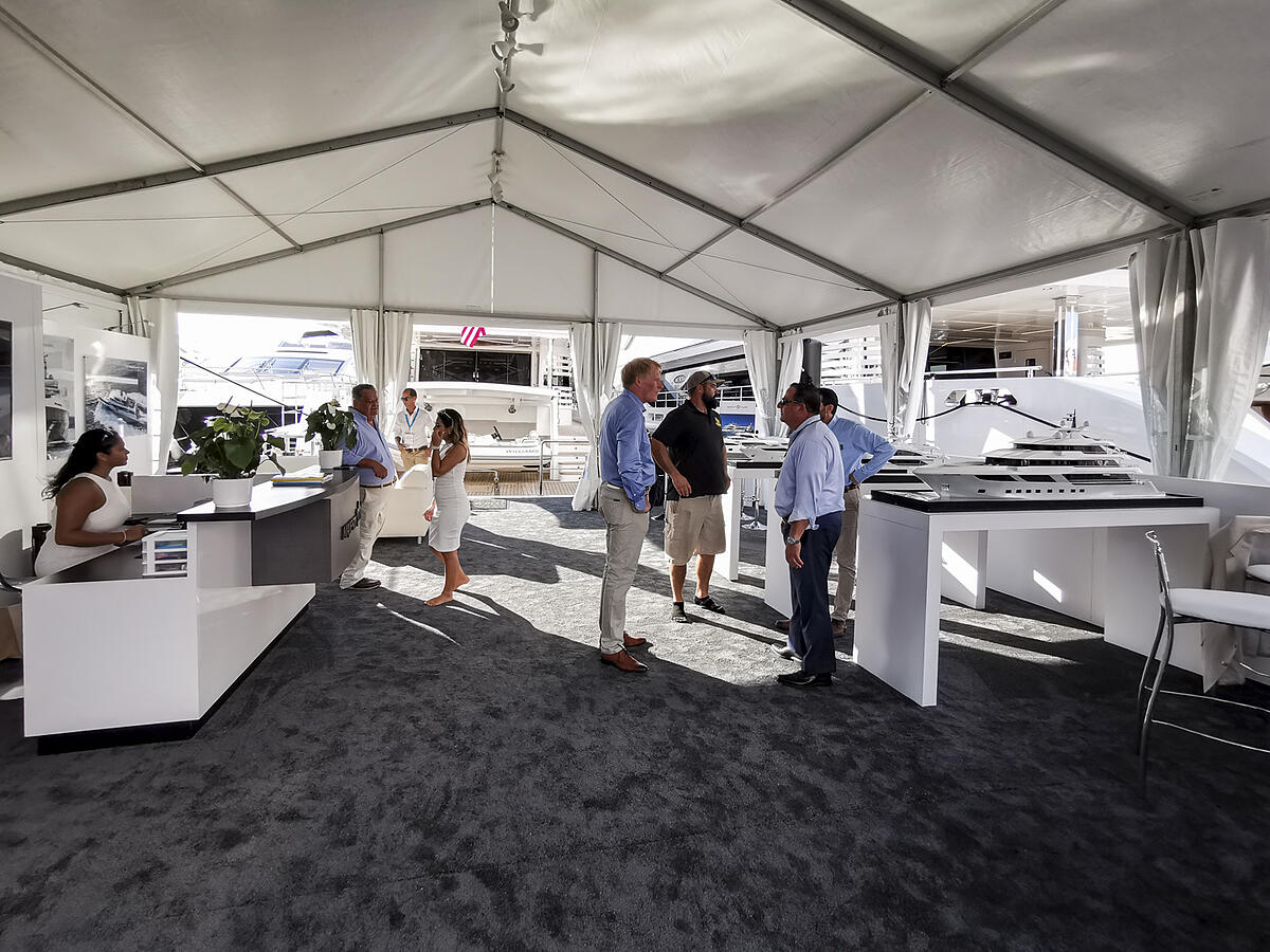 GUlf Craft at Fort Lauderdale International Boat Show 2019 Day 1 (3)