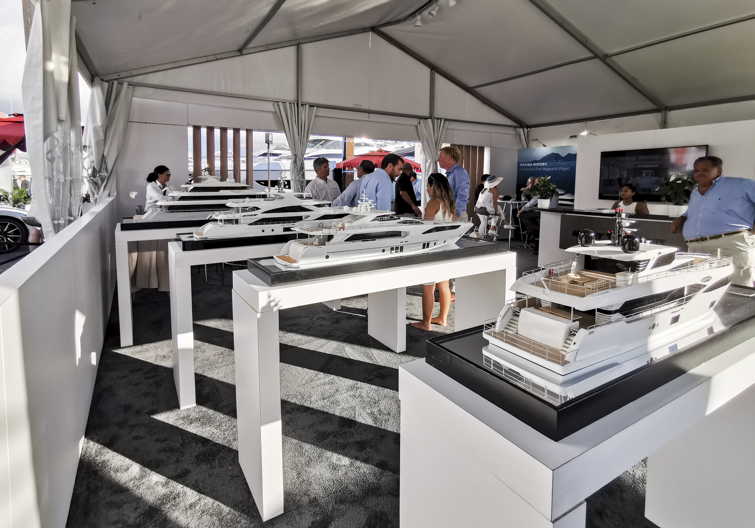 GUlf Craft at Fort Lauderdale International Boat Show 2019 Day 1 (4)