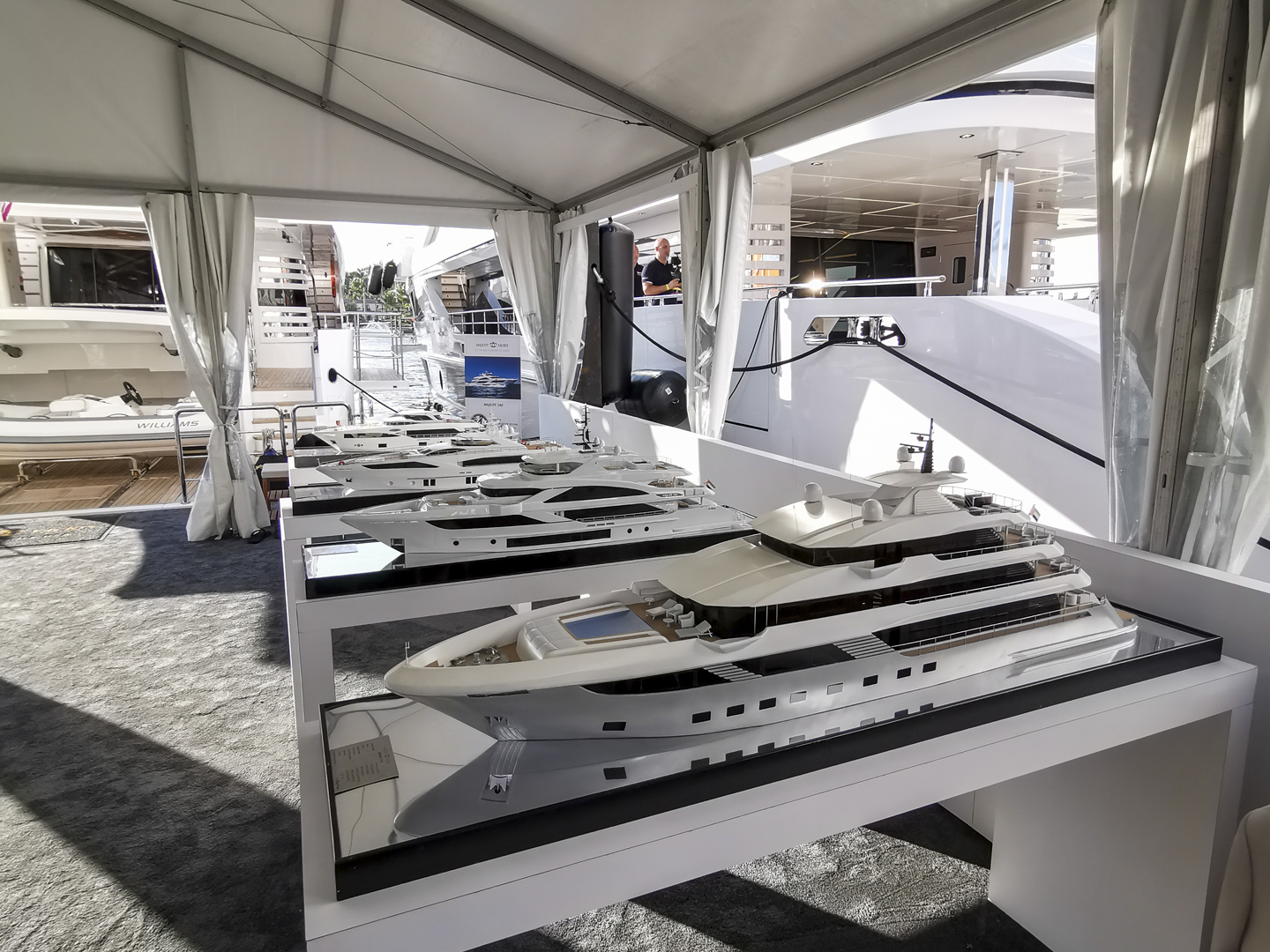 GUlf Craft at Fort Lauderdale International Boat Show 2019 Day 1 (5)