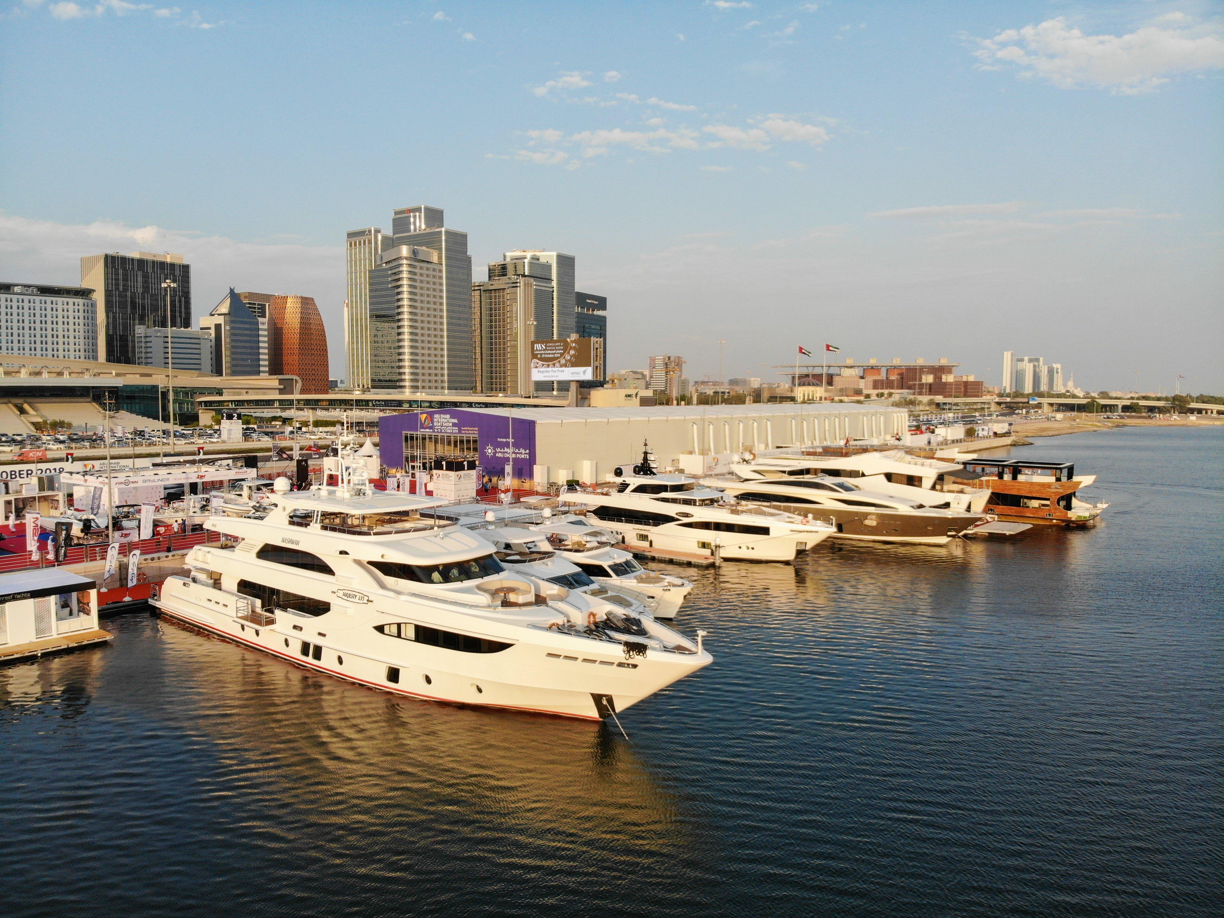Gulf Craft Fleet at Abu Dhabi Boat Show 2018 (3)