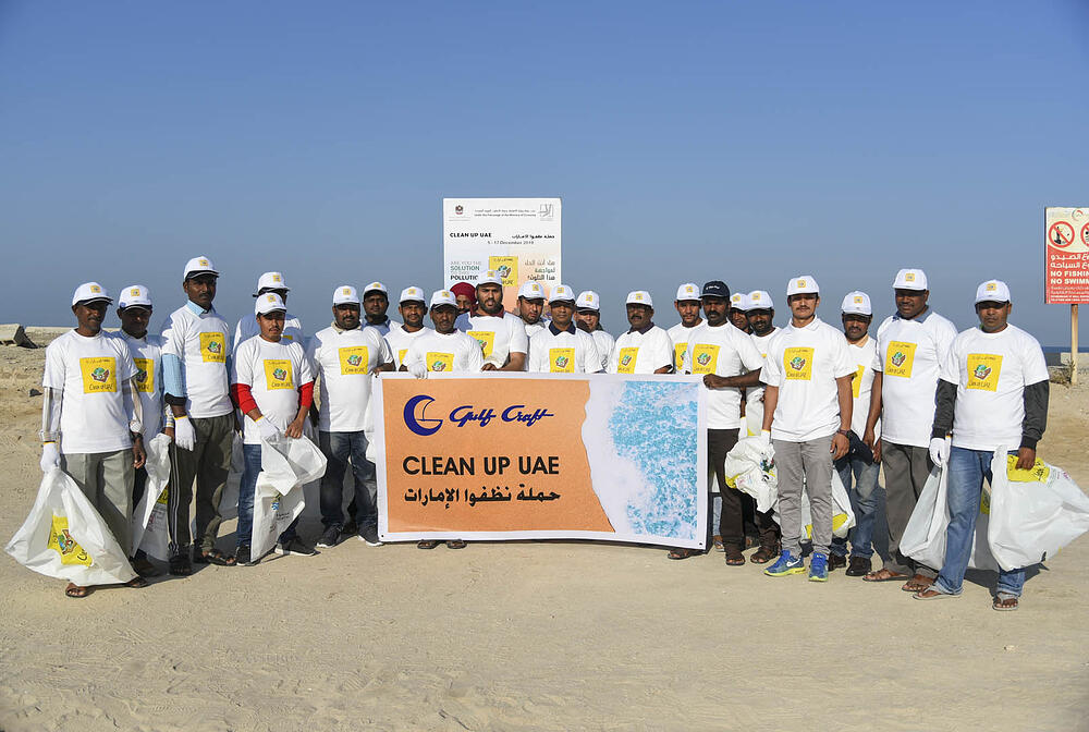 Gulf Craft at UAQ Beach Clean up 2019 (1)