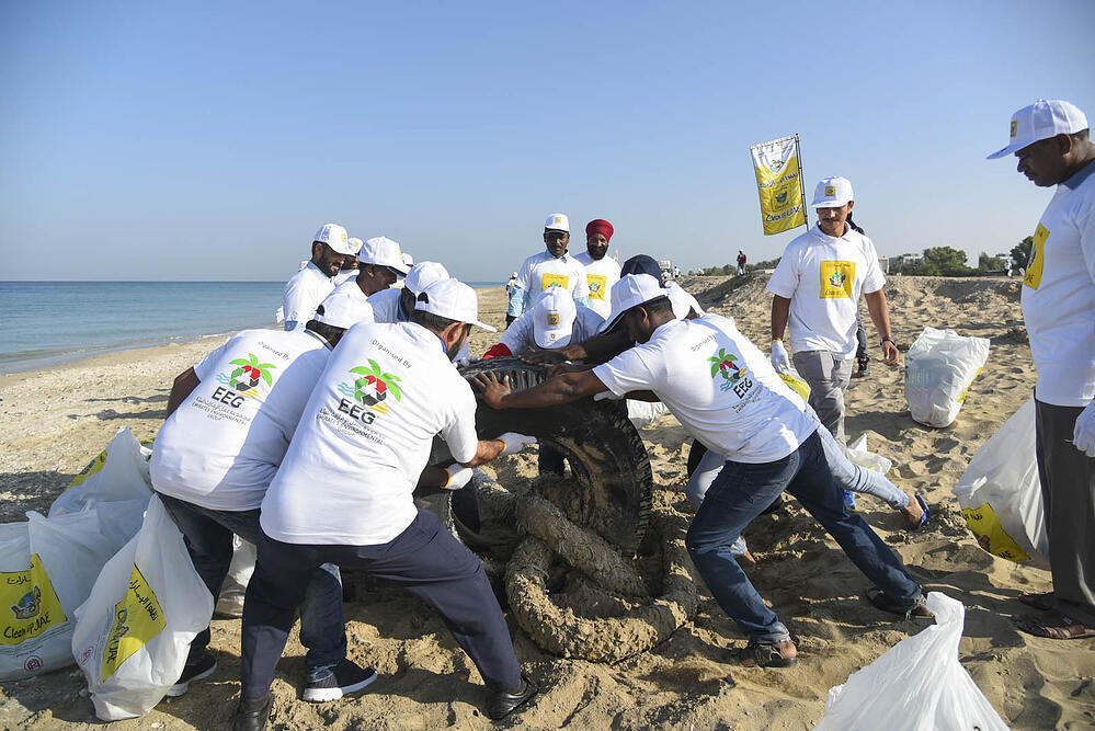 Gulf Craft at UAQ Beach Clean up 2019 (2)