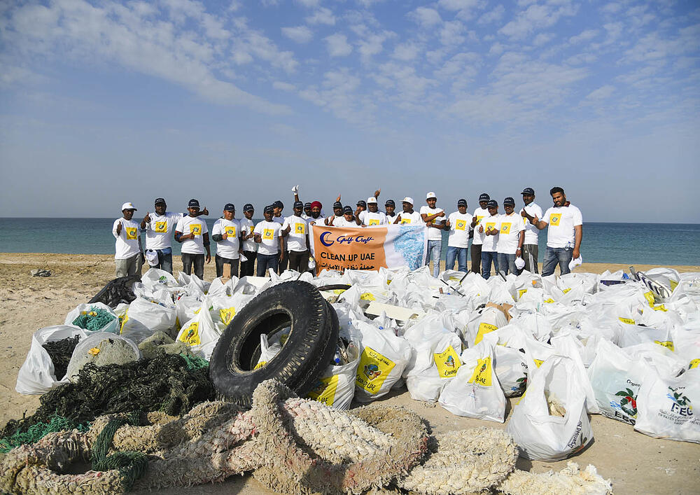 Gulf Craft at UAQ Beach Clean up 2019 (7)