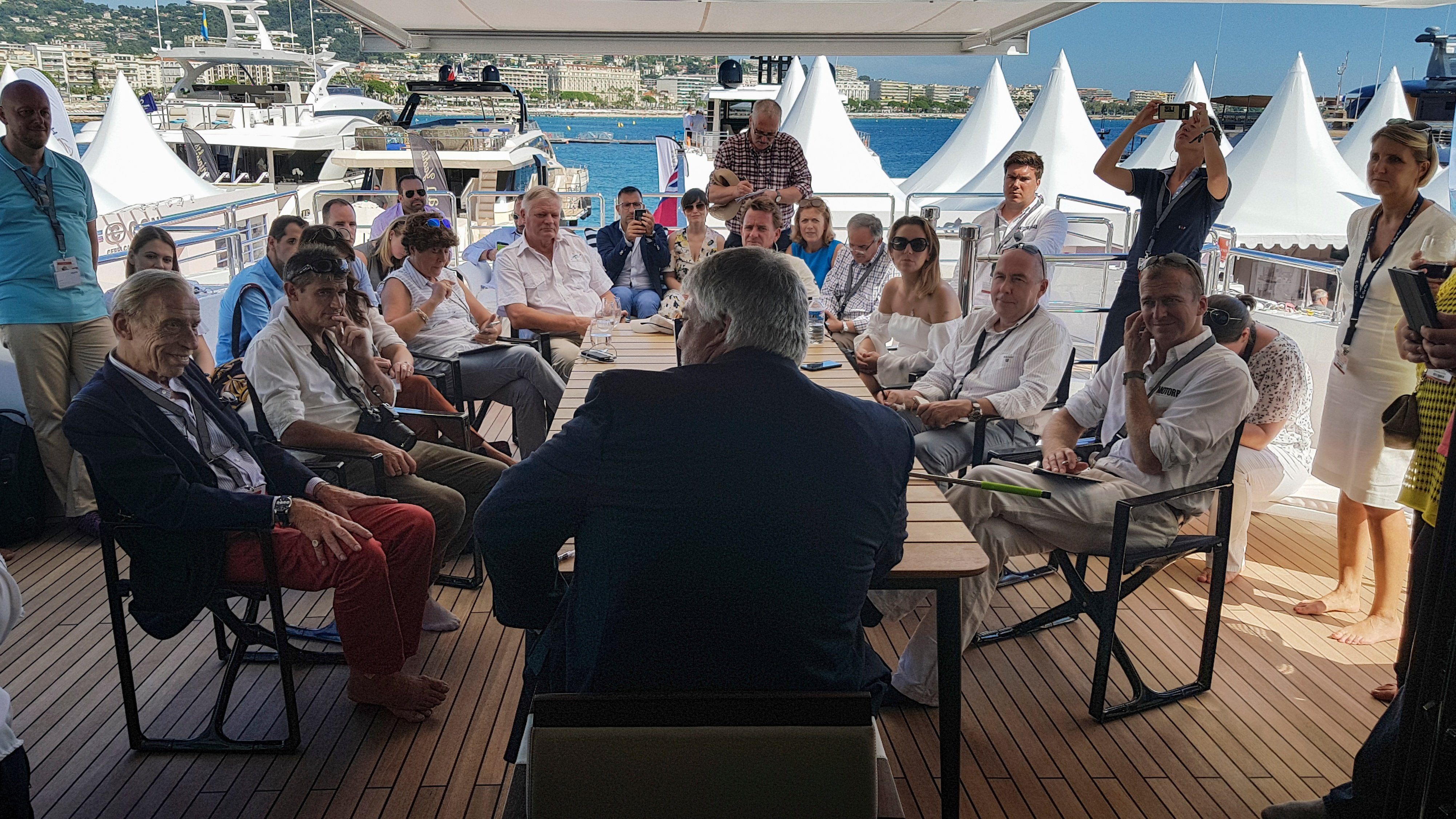 Gulf Craft at Cannes Yachting Festival 2018 Day 1 (2)
