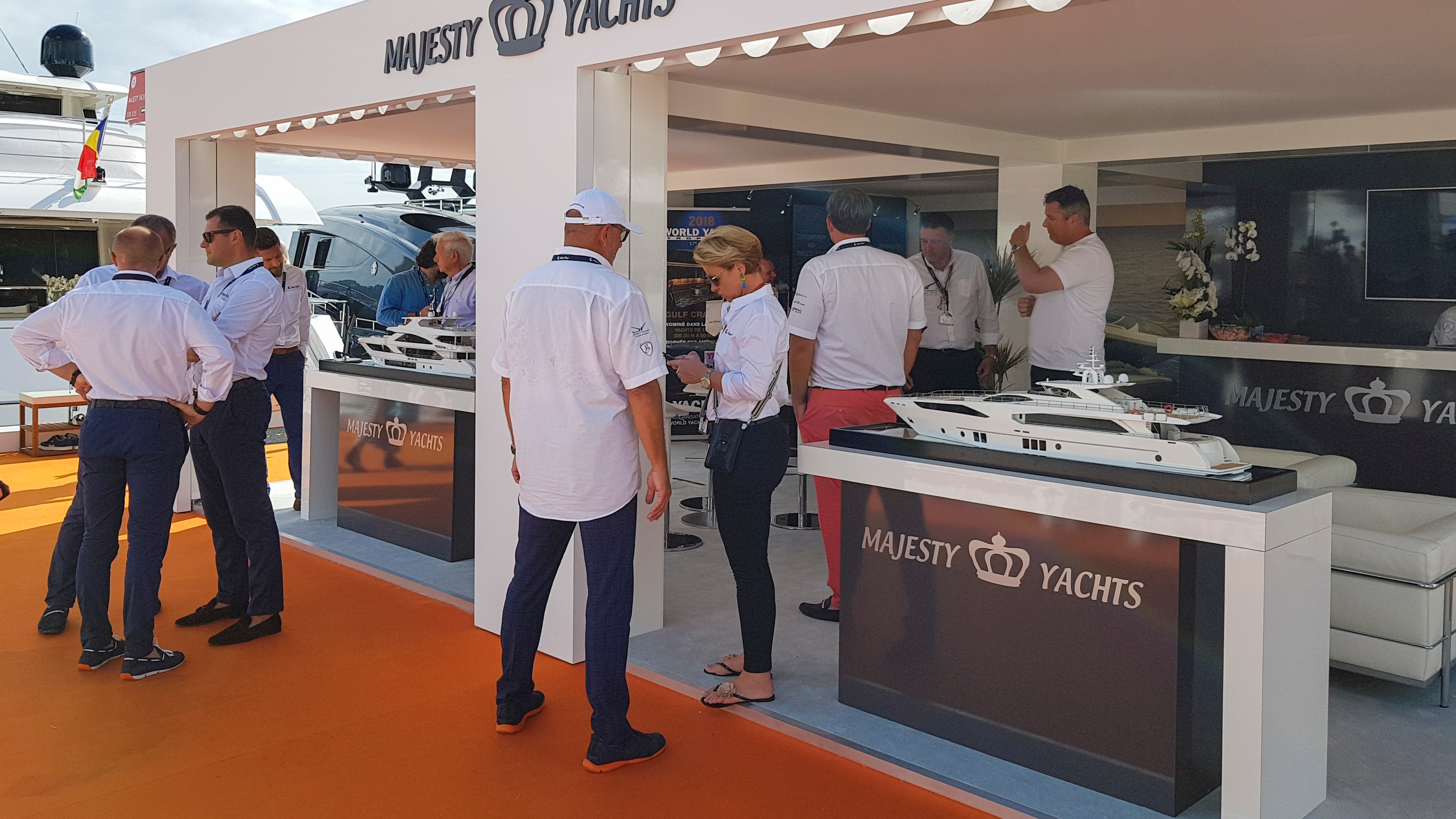 Gulf Craft in Cannes Yachting Festival 2018 Day 6 (4)