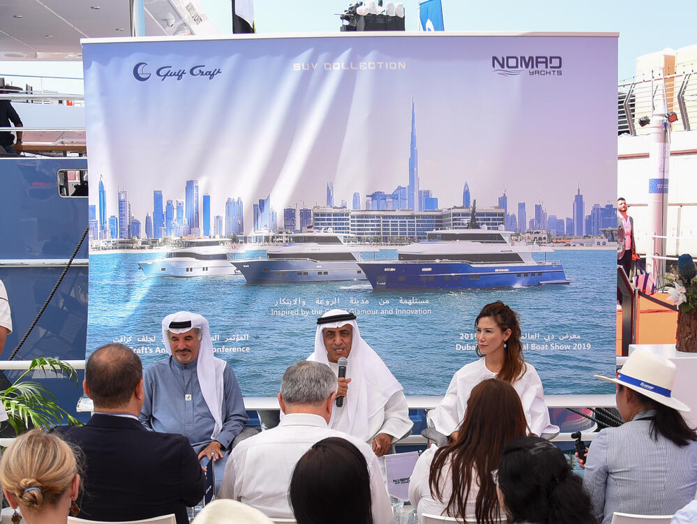 Gulf Craft Press Conference at the Dubai Boat Show 2019 (3)