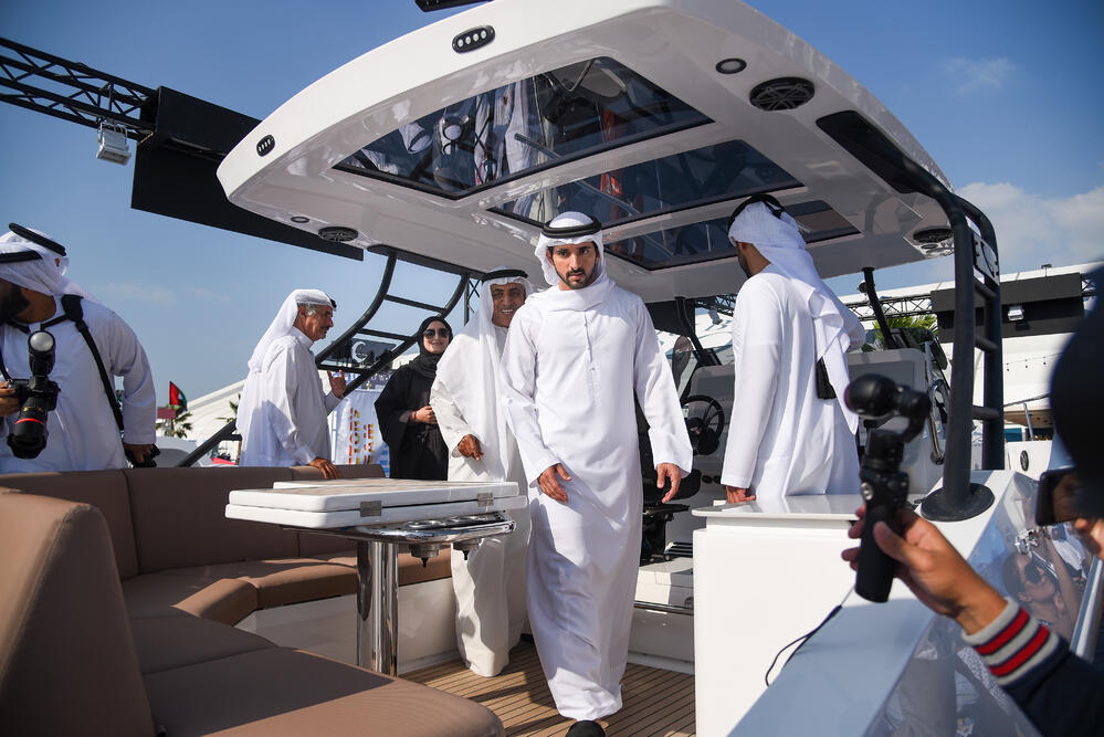 Gulf Craft at the Dubai International Boat Show 2019 (1)
