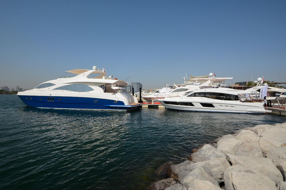 Gulf Craft at Dubai Pre-Owned Boat Show 2018 (4)