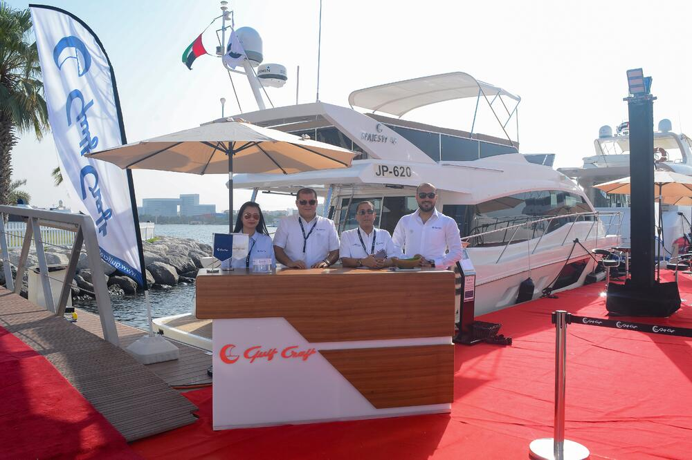 Gulf Craft at Dubai Pre-Owned Boat Show 2018 (9)