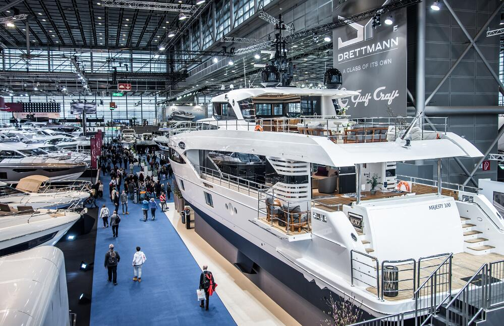 Majesty 100 on display in Boot Dusseldorf 2018.jpg