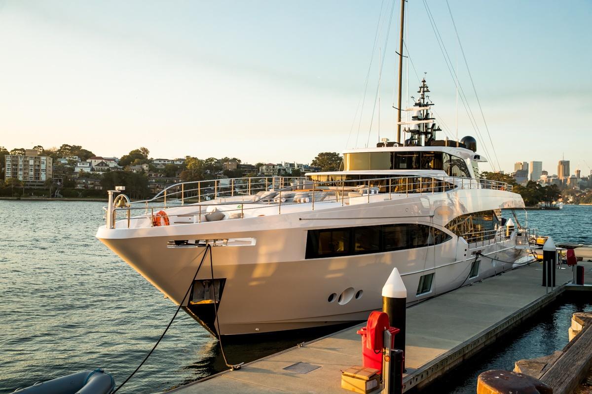 Australian launching of the Majesty 100 M/Y Oneworld organized by Australian Superyachts