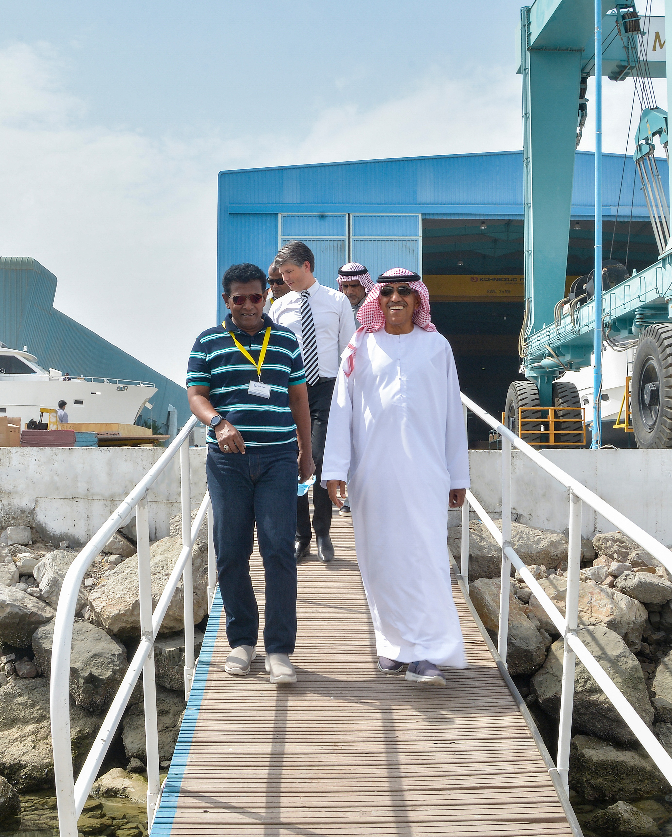 Maldives Chief of Staff, Gulf Craft visit (2.1).jpg
