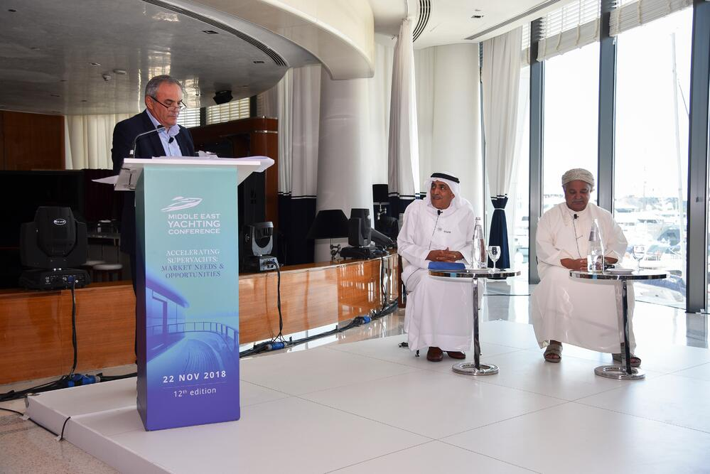 Gulf Craft at Middle East Yachting Conference 2018 (3)