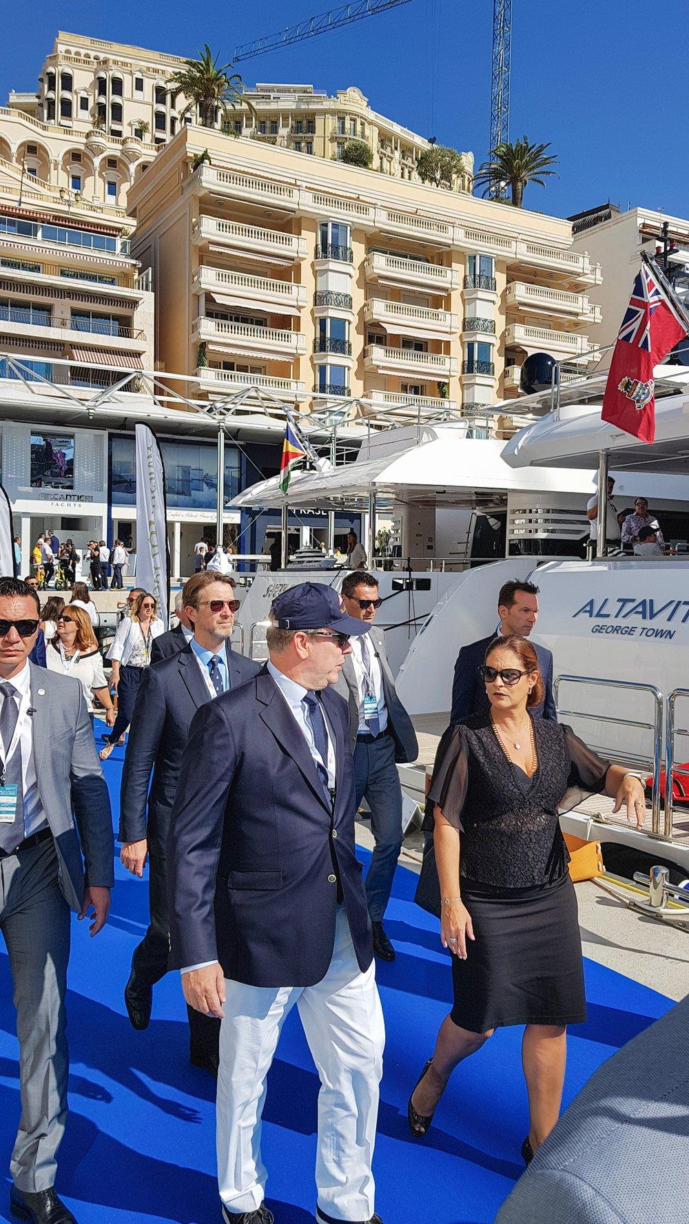 Gulf Craft at Monaco Yacht Show 2018 Day 1 (11)