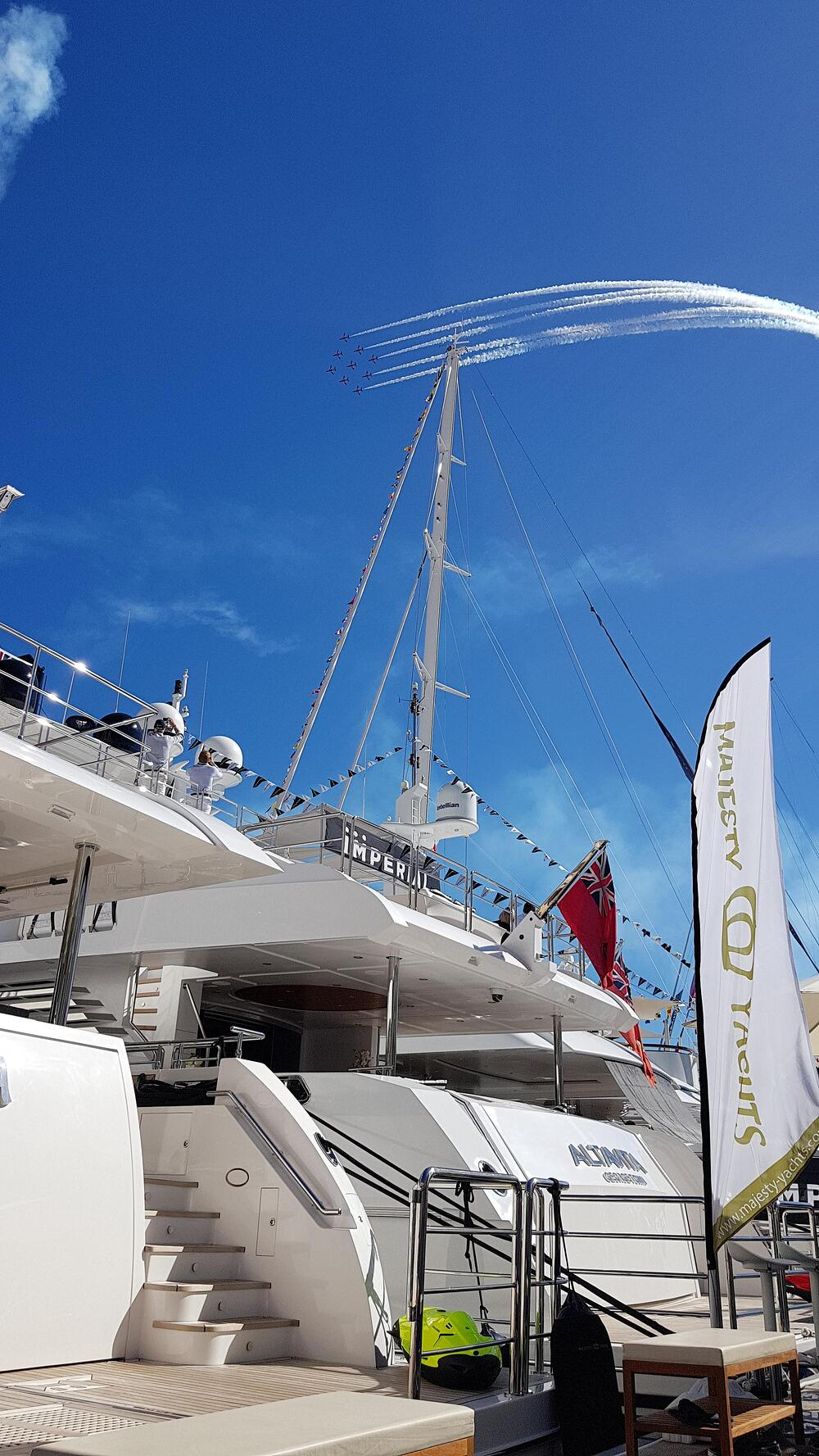 Gulf Craft at the 2018 Monaco Yacht Show-Day 2