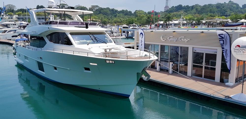 Gulf Craft at Singapore Yacht Show 2018 Day 1 (2)