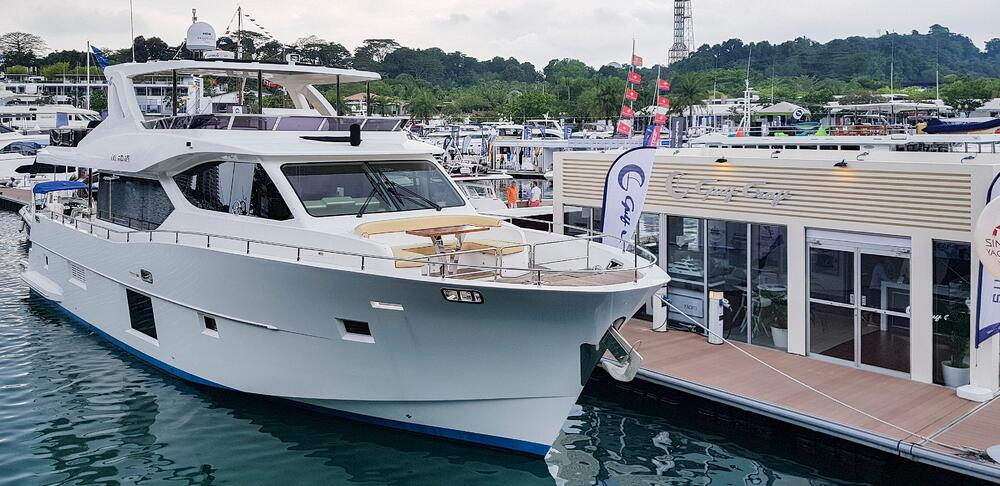 Gulf Craft at Singapore Yacht Show 2018 Day 3 (1)