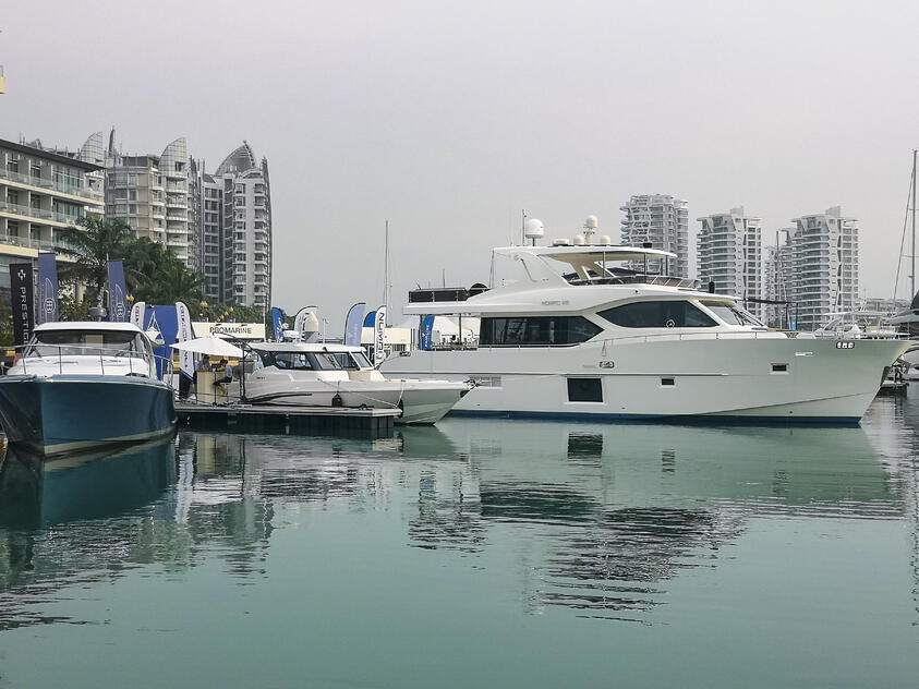 Gulf Craft at Singapore Yacht Show 2019 (4)