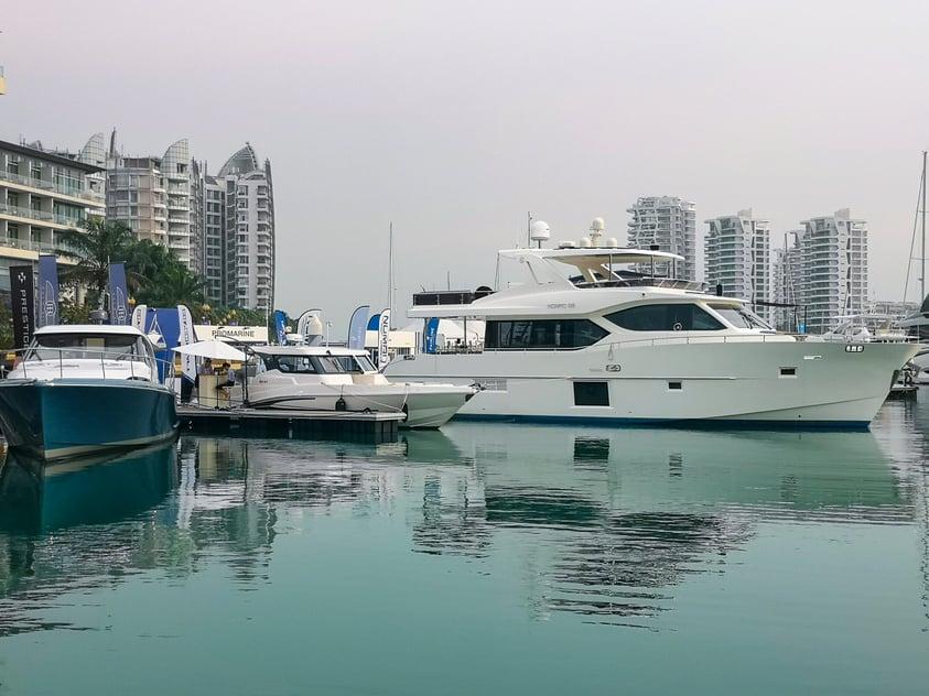 Gulf Craft at Singapore Yacht Show 2019 (4)