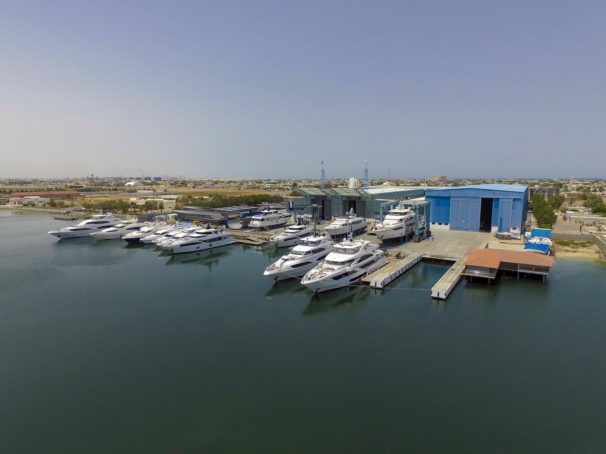 Majesty Yachts and Nomad Yachts shipyard 2018 (1)