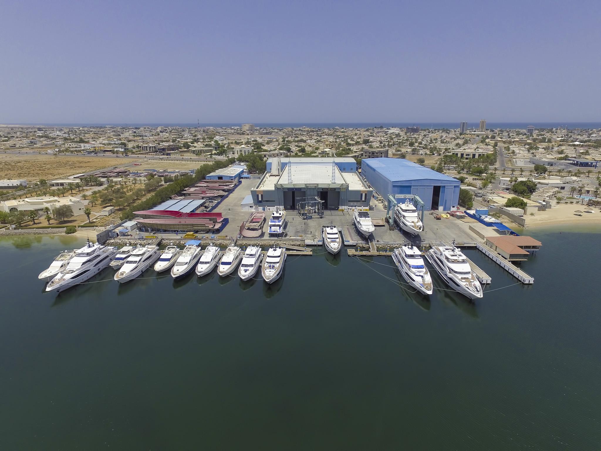 Majesty Yachts and Nomad Yachts shipyard 2018 (2)