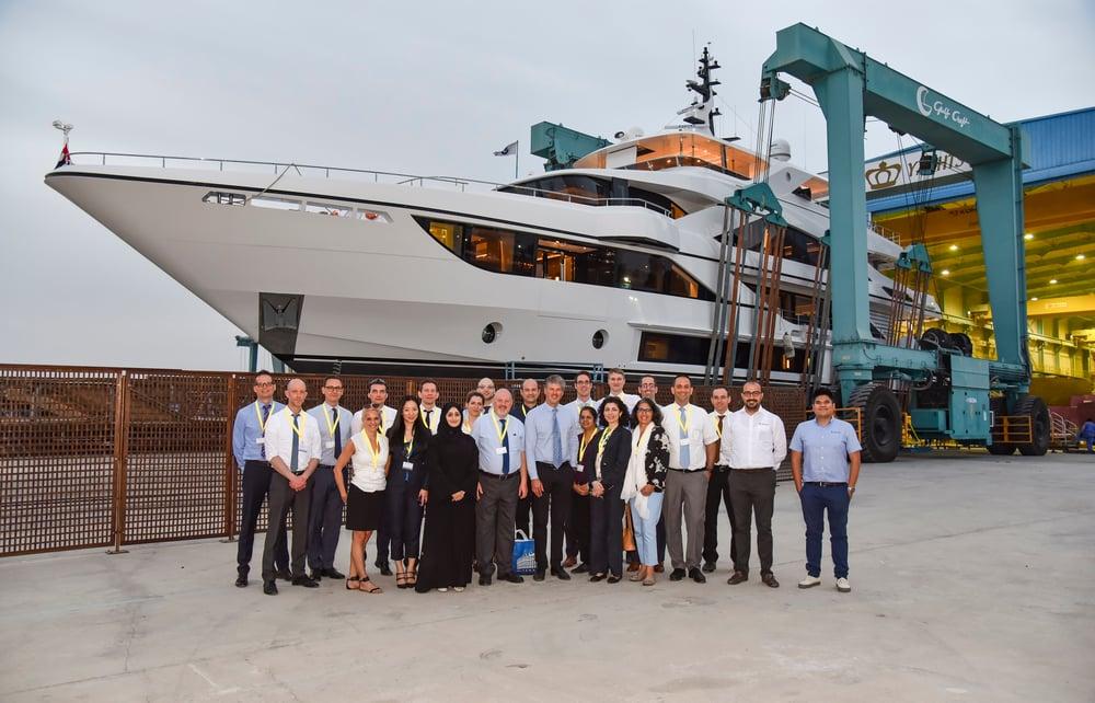 Zurich University at Gulf Craft Shipyard 2018 (0)