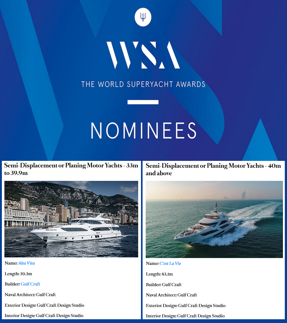 World-Superyacht-Awards-2019-nominees,-Majesty-125-AltaVita-and-Majesty-140-Cest-La-Vie