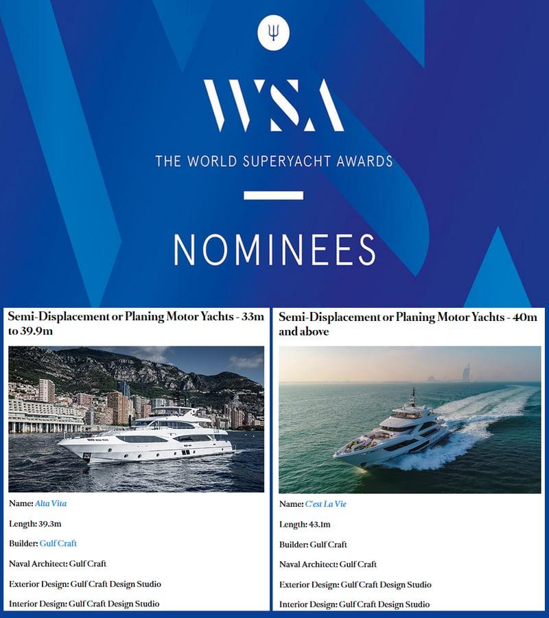 World-Superyacht-Awards-2019-nominees,-Majesty-125-AltaVita-and-Majesty-140-Cest-La-Vie