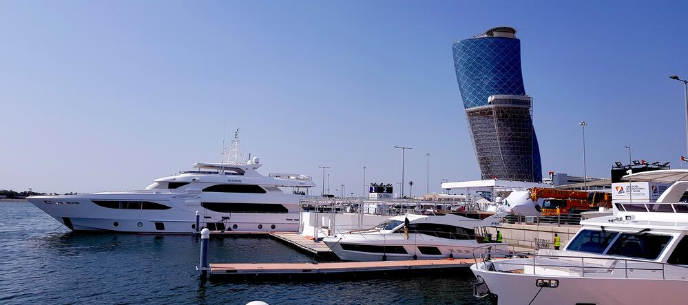 Majesty Yachts and Nomad Yachts on Display at the stand