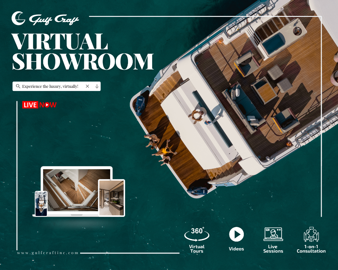 Gulf Craft Luxury Yachts Virtual Showroom