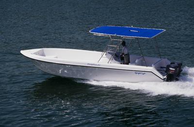 Gulf Craft Dolphin 31 Fishing Boat