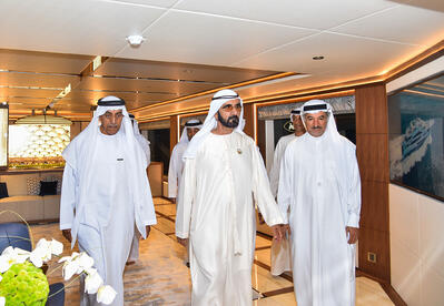 HH Sheikh Mohammed Bin Rashid Al Maktoum visits the Gulfcraftinc