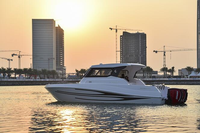 Qatar Yachting Enthusiasts Marvel At Gulf Craft S Floating