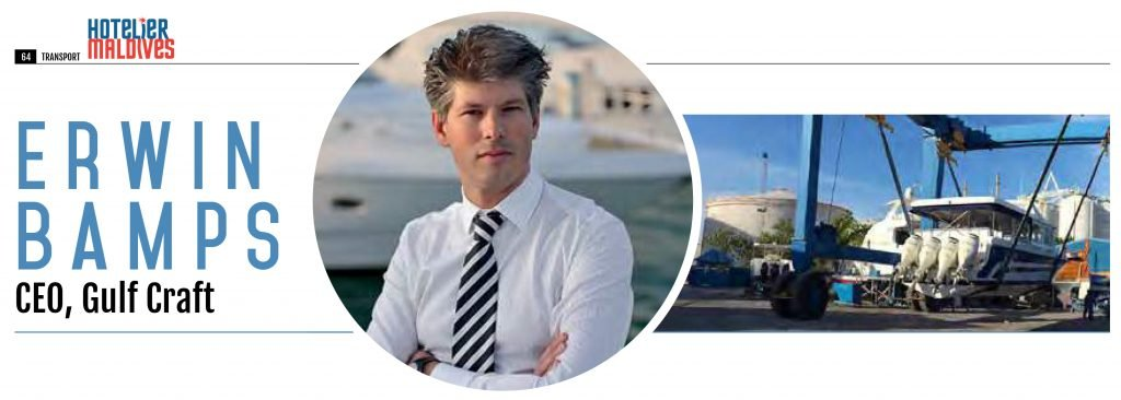 ERWIN BAMPS, GULF CRAFT CEO Q&A WITH HOTELIER MAGAZINE MALDIVES