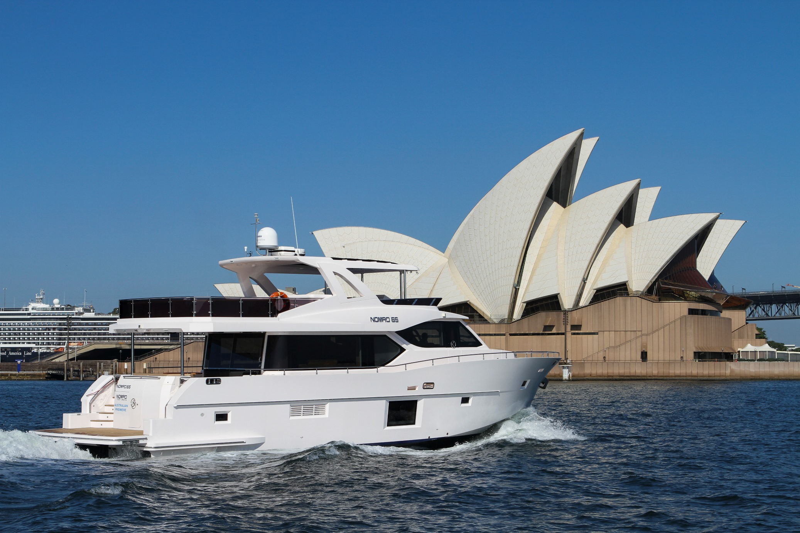 Gulf Craft's long-range Nomad Yachts makes Australian debut at