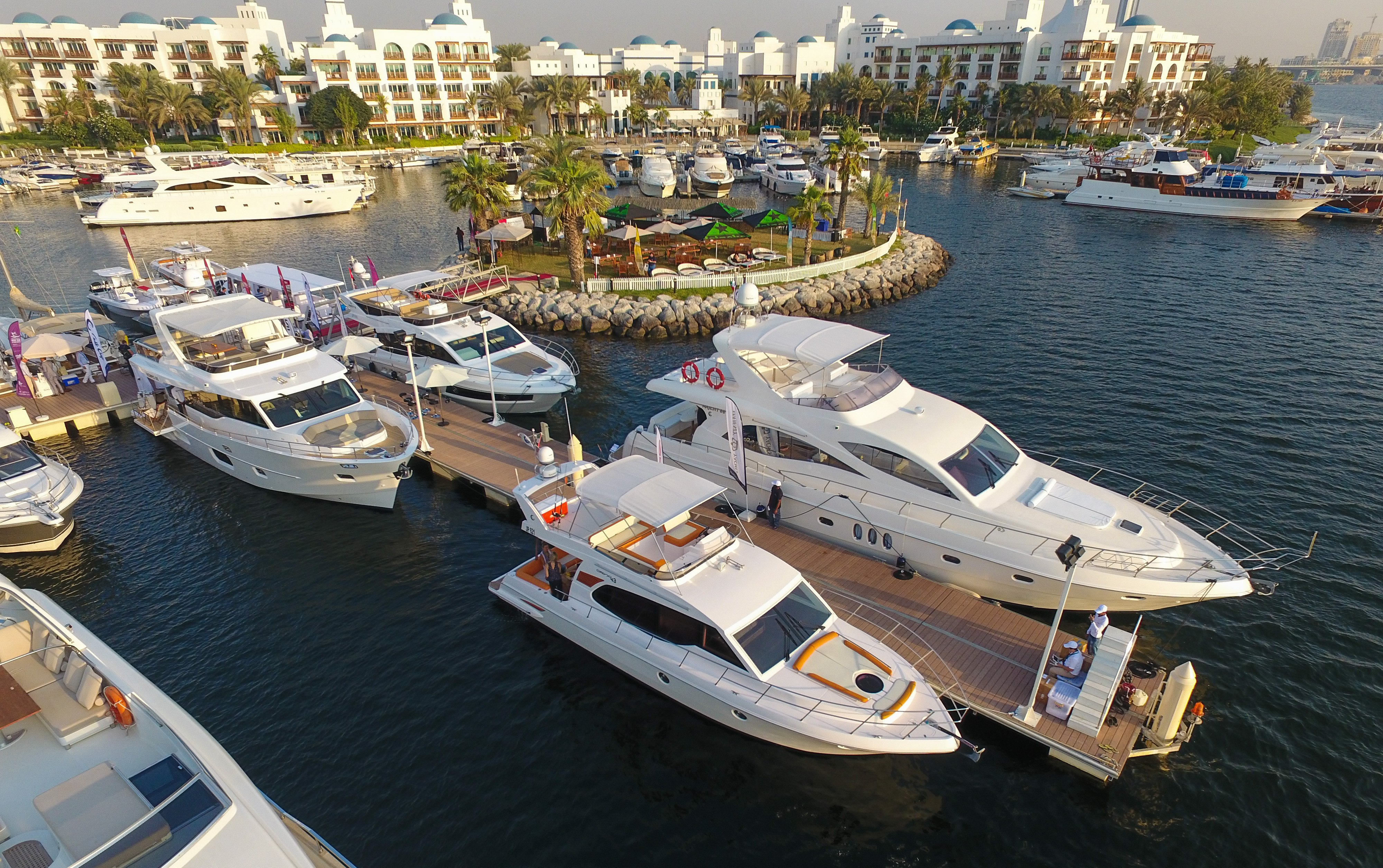 Gulf Craft at Dubai Pre-owned Boat Show 2016 (1).jpg