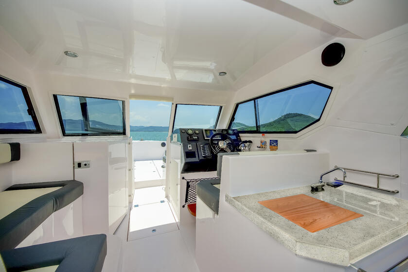 Silvercraft 36 HT interior