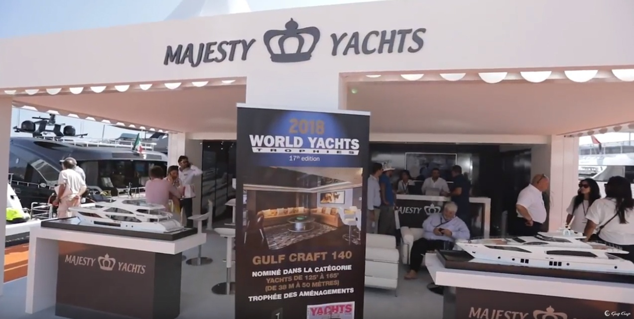 Gulf Craft at the Cannes Yachting Festival 2018