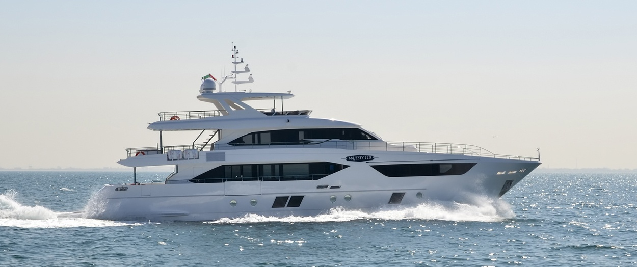 Majesty 110 product video by Gulf Craft, UAE