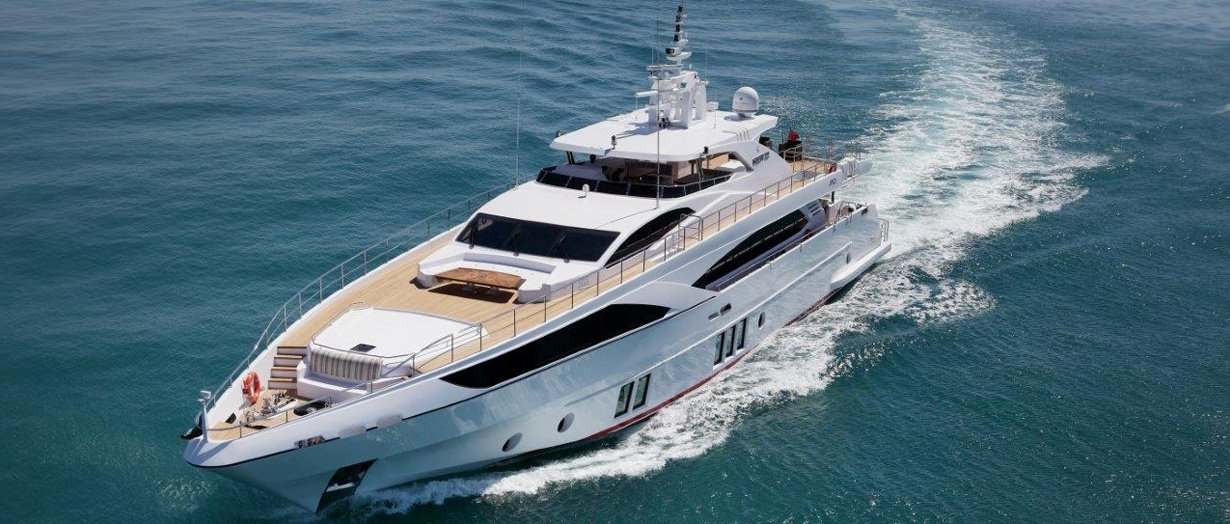 The product video for the Majesty 122 by Gulf Craft, UAE