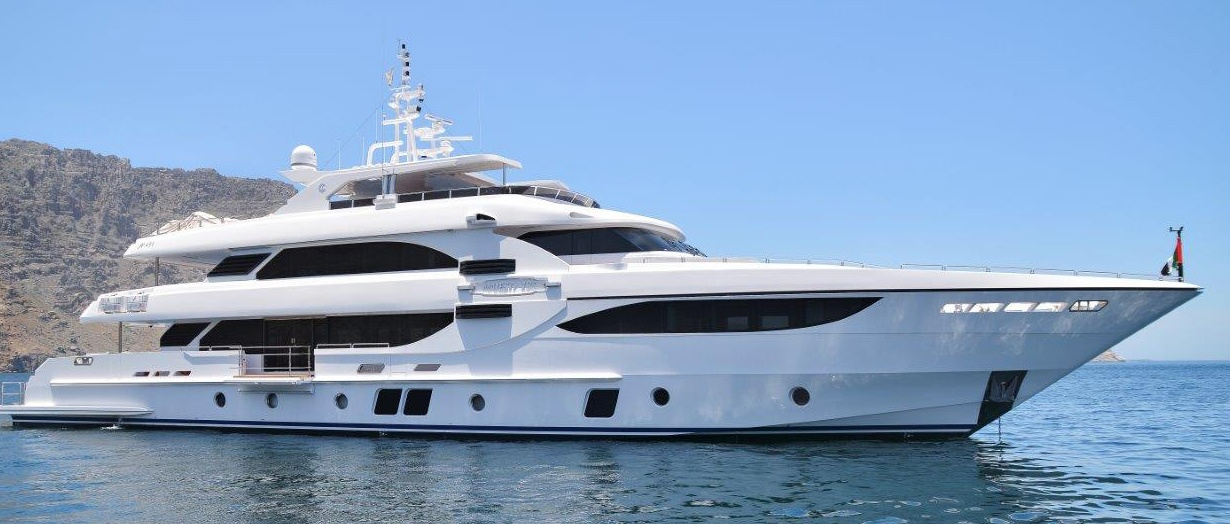 The Majesty 135 product video by Gulf Craft, UAE