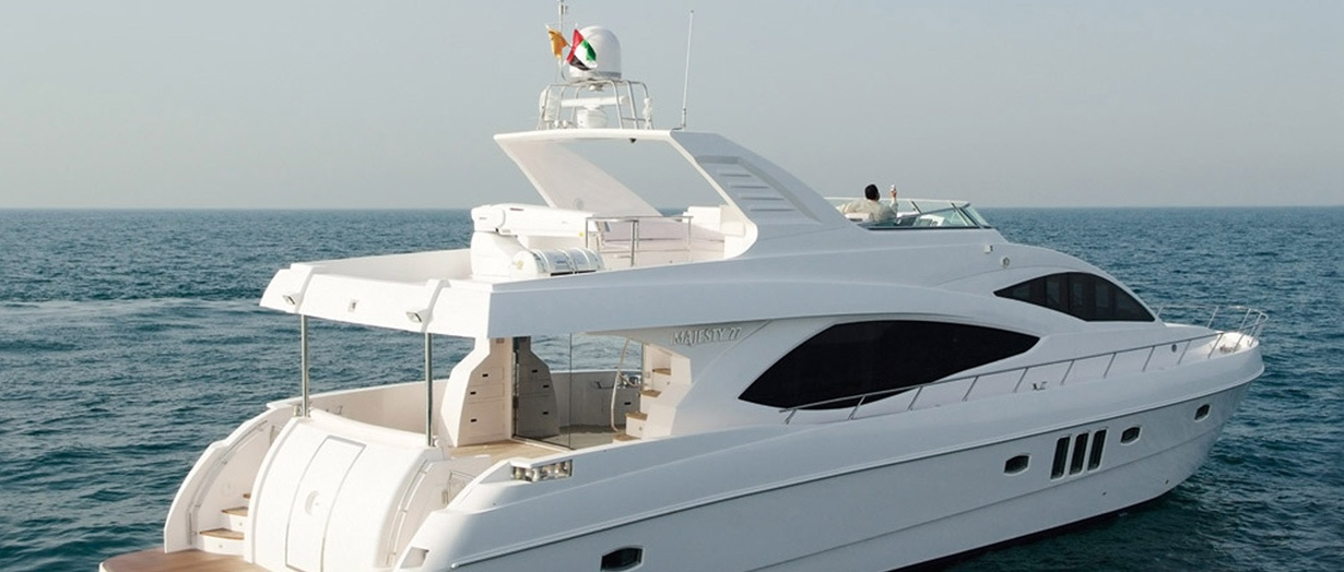 The product video for the Majesty 77 by Gulf Craft, UAE