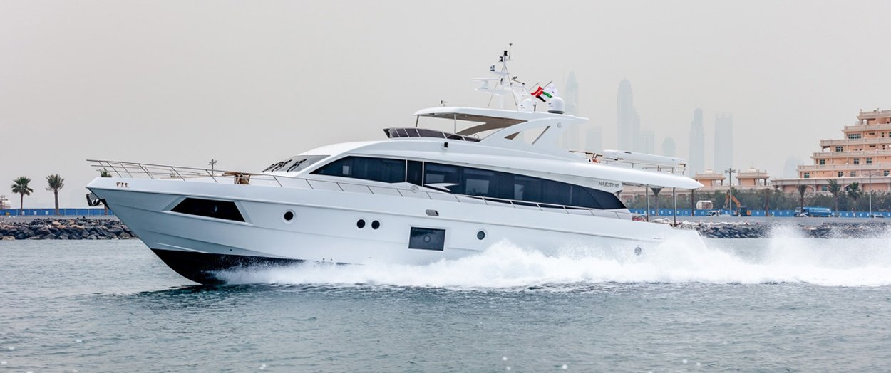 Majesty 90 by Gulf Craft product video