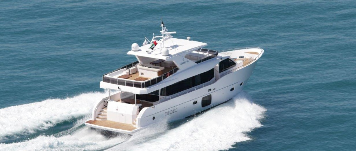 Nomad 75 by Gulf Craft product video