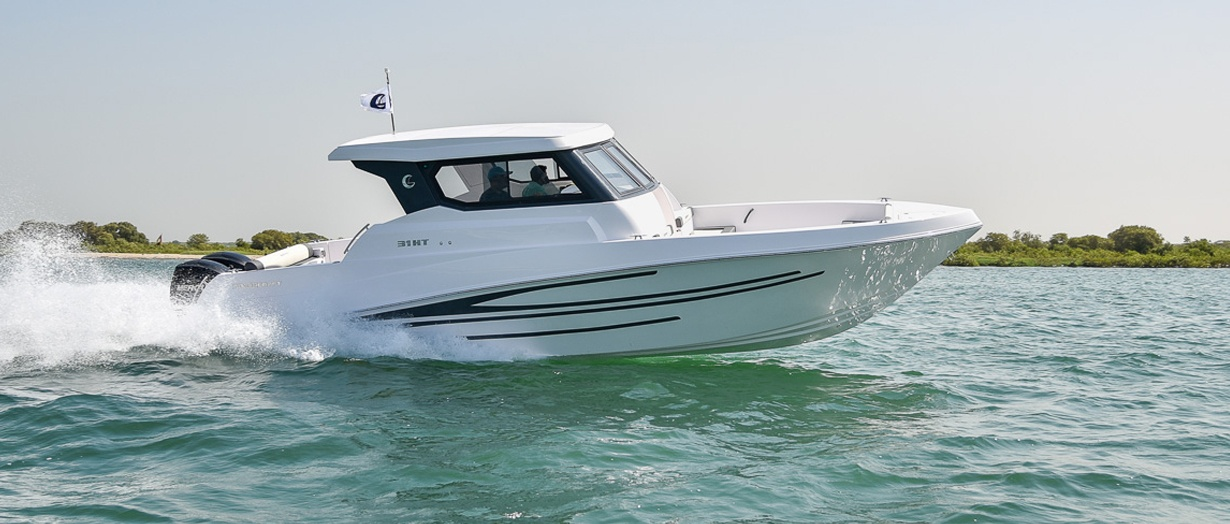 Product video for the Silvercraft 31 HT by Gulf Craft
