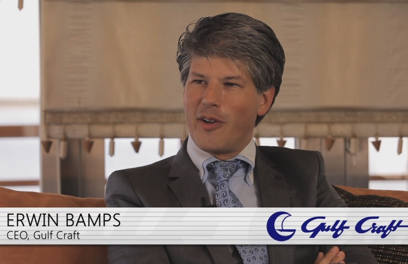 Phil Blizzard interviews Erwin Bamps, Gulf Craft CEO